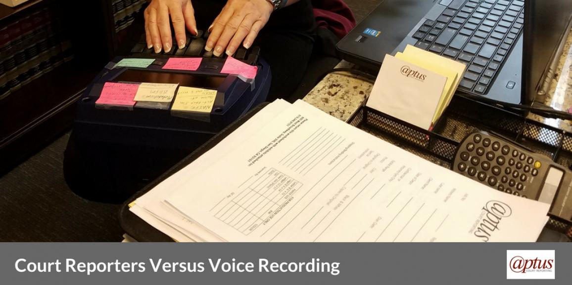 Court Reporters Versus Voice Recording: An In-Depth Look